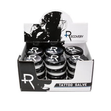 Recovery Aftercare Tattoo Salve Display Case of 24 .75oz Tins