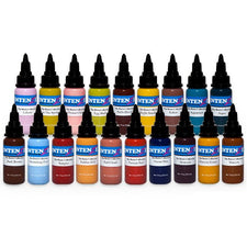 Boris From Hungary Color Line Set — Intenze Tattoo Ink — 1oz — 19 Bottles