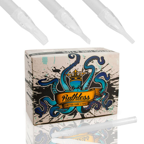 Ruthless Disposable Sterile Tattoo Tubes & Tips