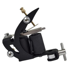 Single | Soft Silicone Finish BLACK Liner Tattoo Machine V24
