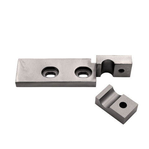 EZ Vise Custom Square Tattoo Machine Bottom Base Plate - 2 Hole