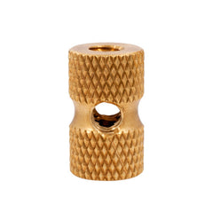 Ringmaster Irons Raw Knurled Brass Front Binding Post Tattoo Machine Lock Nut