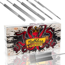 Ruthless Sterilized Tattoo Premixed Needles 50 pc