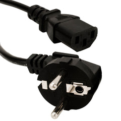 Standard 2 prong EUROPE Power Cord for Tattoo Power Supplies