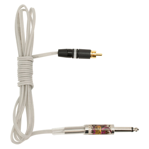 Ruthless Standard Silicone RCA Clip Cord 6'