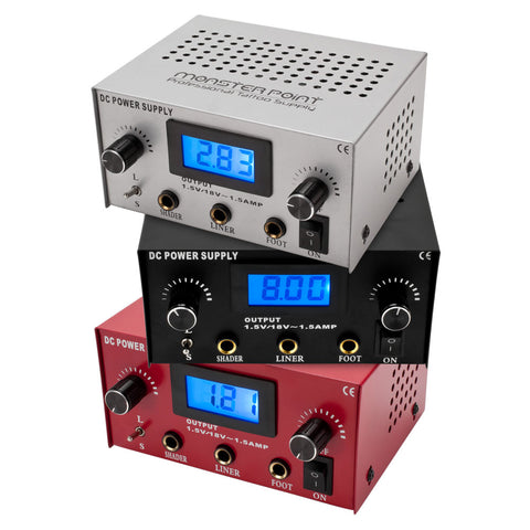 Dual Tattoo Shader Liner Power Supply LED Digital Display