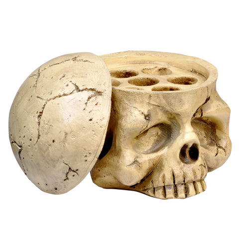 Resin Skull Ink Cap Holder #2