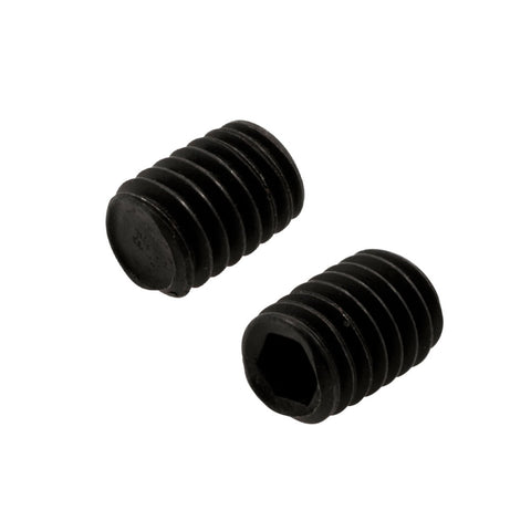 BAG OF 10 #7 BLACK STEEL HEX Set Screw Screw for Grips - 3.0mm