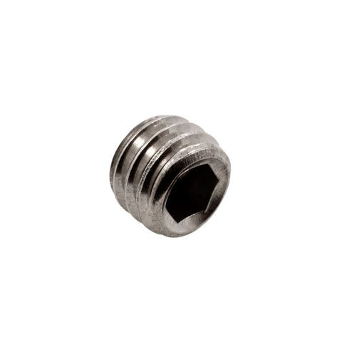 BAG OF 10 #9 BLACK STEEL HEX Set Screw Screw for Grips - 5.0mm
