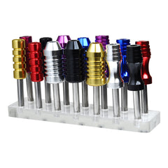14 Slot Tattoo Grip Stand - Holds all your Tattoo Grips