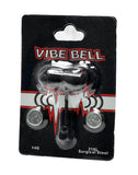 Black Vibe Bell Bullet Vibrating Tongue Ring Barbell