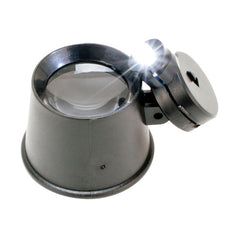 Illuminated LED Eye Loupe with 10X Power & Light