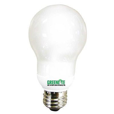 50 CFL Efficient Energy Star E26 A Shape Spiral Globe Light Bulb 7w 13w watt NEW
