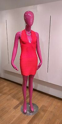 NWT Flattering Red Bandage Dress Bodycon M Medium Size 4 6 8 New