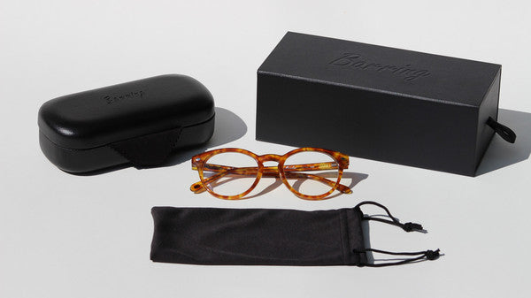 Barring Mainline Tortoise Shell Clear Frames