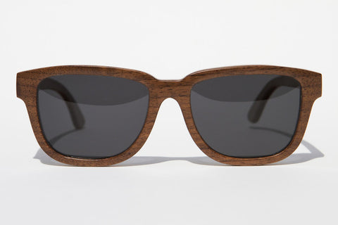 Barring Coffee Premium Wood Sunglasses