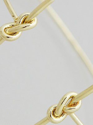 Delicate Sailor Knot Bracelet in Gold and Silver