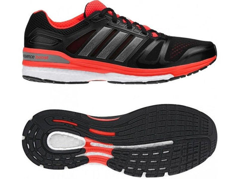 NEW Adidas Supernova Sequence 7 Running Shoes Red & Black Men's Size 9 9.5 10 10.5 11 12 13