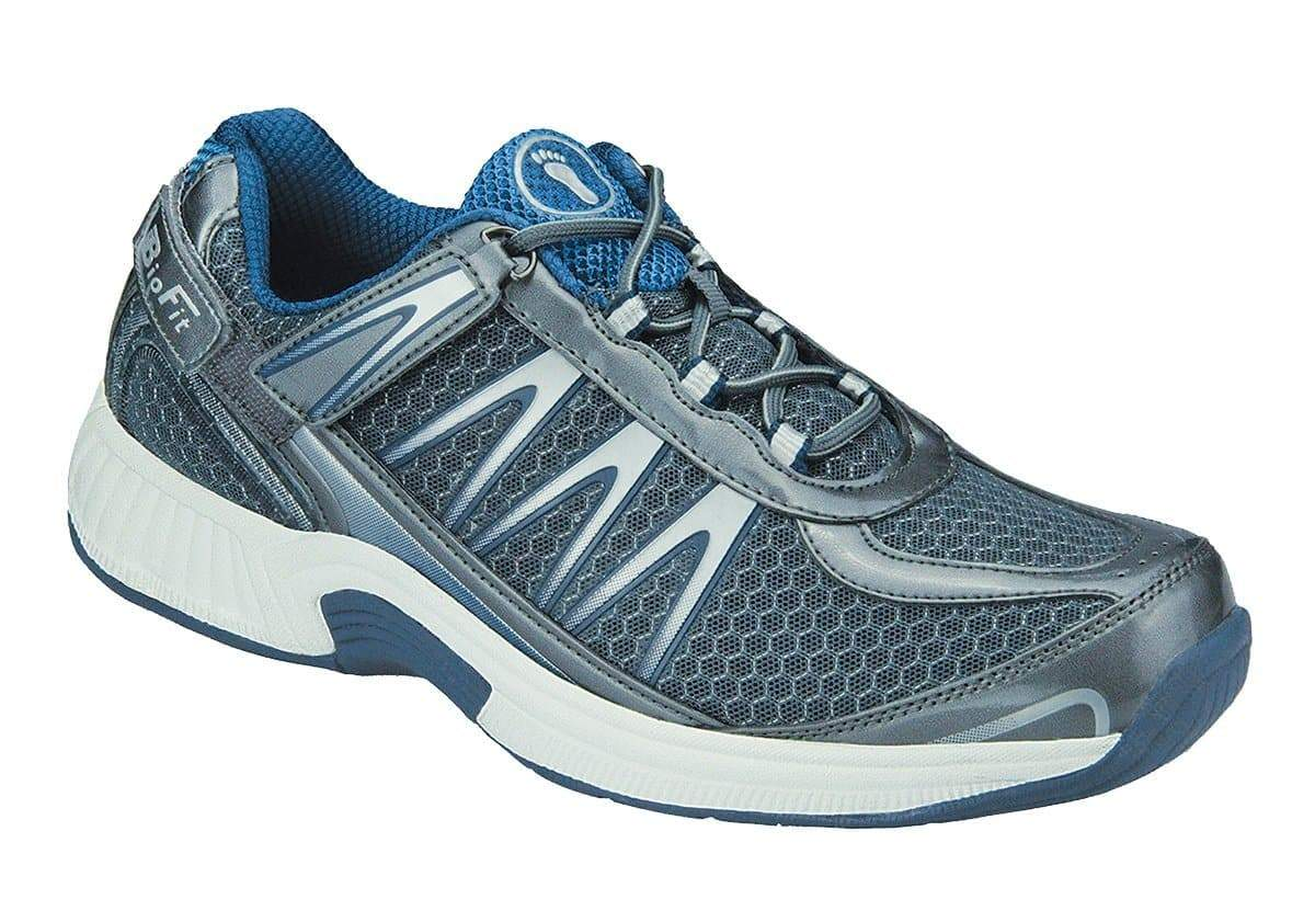 Sprint Gray Tie-less and Heel Strap Men's Tennis Shoes