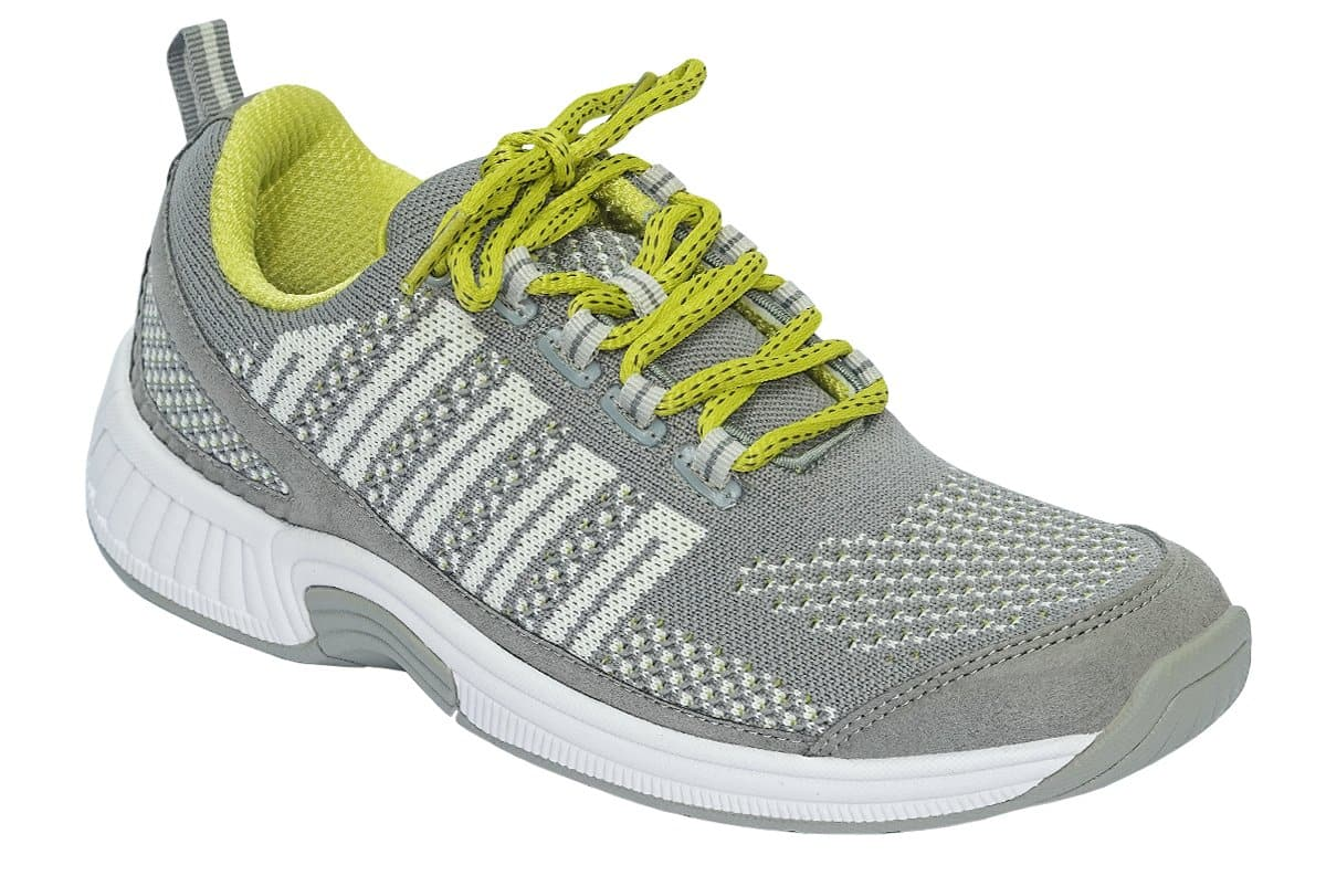 Coral Stretchable Grey Women's Tennis Shoes