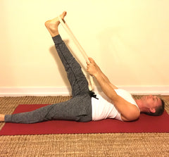 yoga poses and props