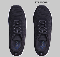 stretched shoes
