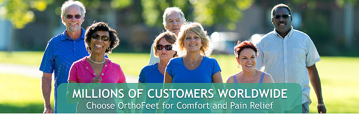 #1 Doctor Recommended Footwear Shoes by Podiatrists | Orthofeet
