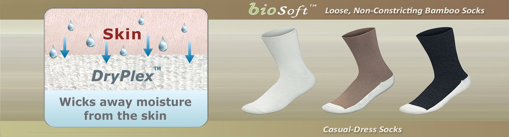 Seam Free Diabetic Arthritis Bamboo Circulation Soft Socks | Orthofeet