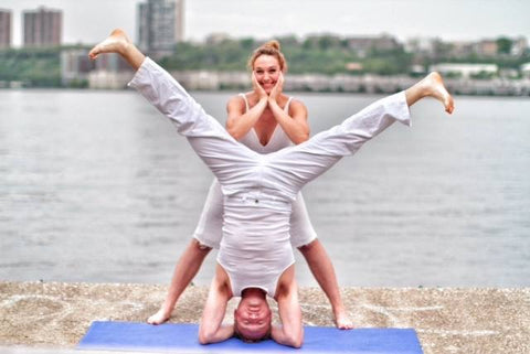 Yoga for Feet Ben Curtis and Cassie Fireman of Soul Fit NYC