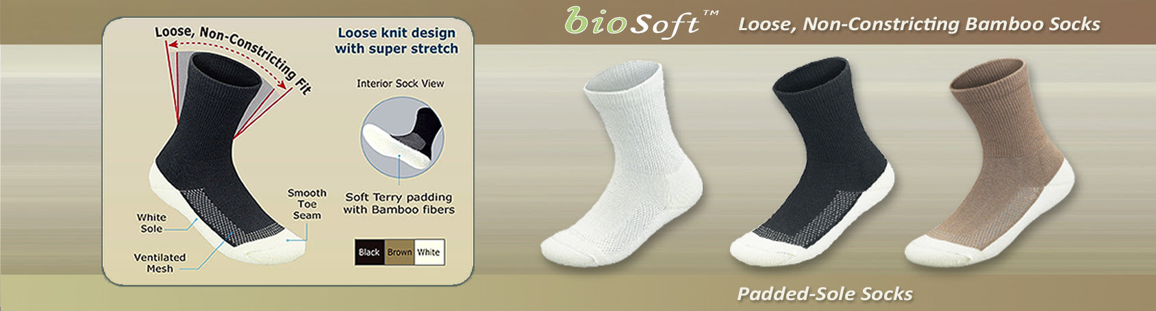 Orthofeet orthopedic socks