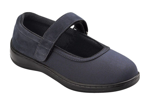 Springfield-Navy Women's Mary Jane Stretchable