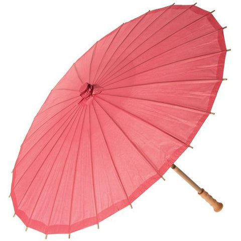 32 Inch Small Premium Paper Parasol - Pinks-Jubilee Favors