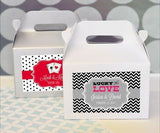 """A Lucky Pair"" Vegas Mini Gable Boxes (set of 12)-Jubilee Favors"