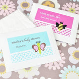 Baby Animal Personalized Tissue Packs-Jubilee Favors