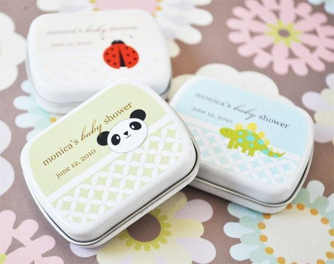 Baby Animals Personalized Mint Tins-Jubilee Favors