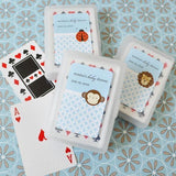 Baby Animals Personalized Playing Cards-Jubilee Favors