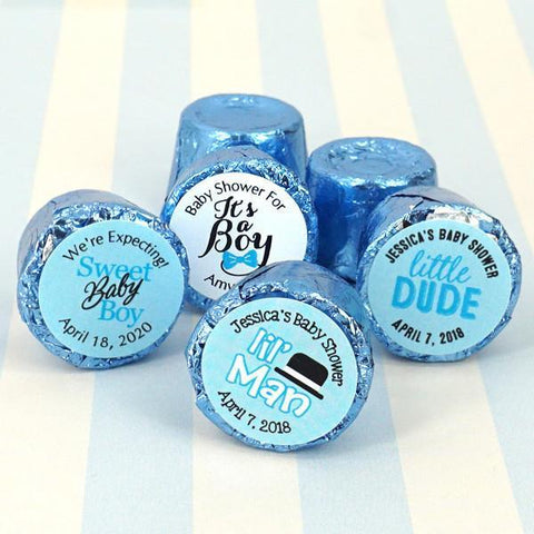 Baby Boy Hershey's Rolo Chocolate Favors (Set of 100)-Jubilee Favors