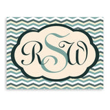 Baby Chevron Personalized Canvas Sign-Jubilee Favors