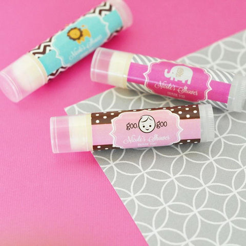 Baby Shower Personalized Lip Balm Tubes-Jubilee Favors