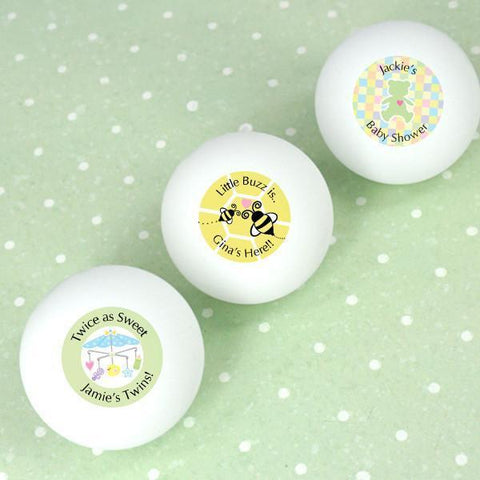 Baby Shower Ping Pong Ball Favors-Jubilee Favors