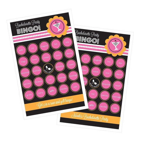Bachelorette Party Bingo (set of 16)-Jubilee Favors