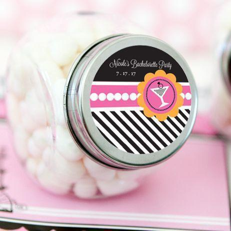 Bachelorette Party Personalized Candy Jars-Jubilee Favors