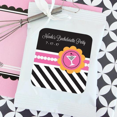 Bachelorette Party Personalized Hot Cocoa + Optional Heart Whisk-Jubilee Favors
