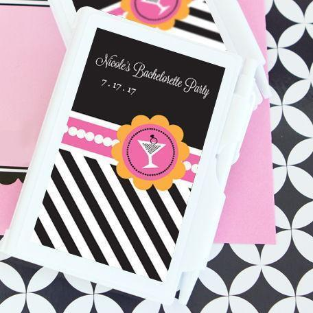 Bachelorette Party Personalized Notebook Favors-Jubilee Favors