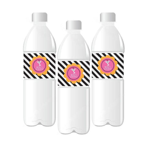 Bachelorette Party Personalized Water Bottle Labels-Jubilee Favors