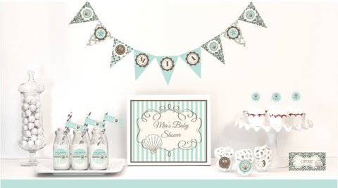 Beach Party Mod Party Kit-Jubilee Favors
