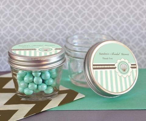 Beach Party Small 4 oz Mason Jars-Jubilee Favors