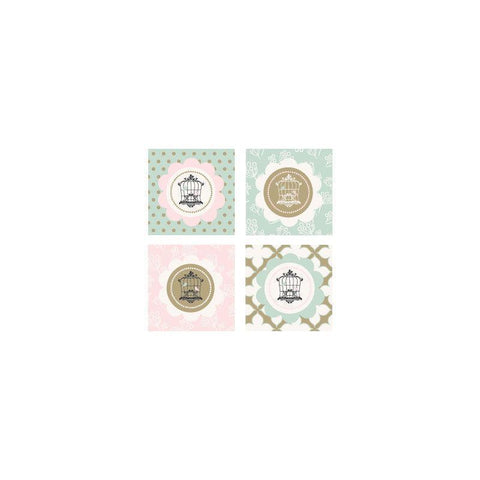 Birdcage Party Decorative Favor Tags (Set of 20)-Jubilee Favors
