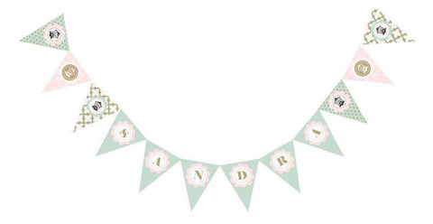Birdcage Party Pennant Banner-Jubilee Favors
