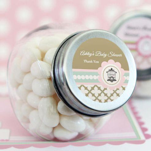Birdcage Party Personalized Candy Jars-Jubilee Favors